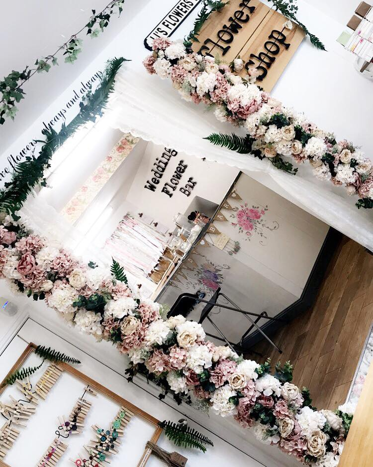The Wedding Flower Bar